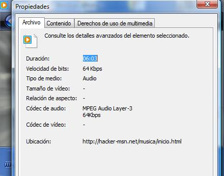 Oirla directamente en el Windows Media Player