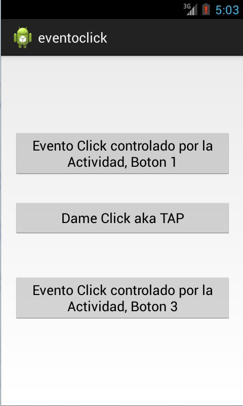 onClick Android