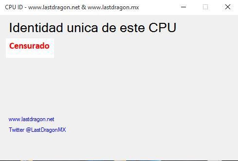 Privacidad CPU UID