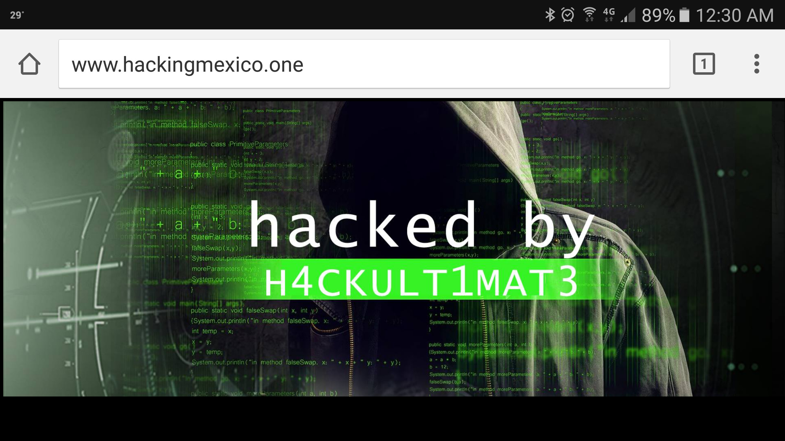 Hack Ultimate VS Hacking Mexico