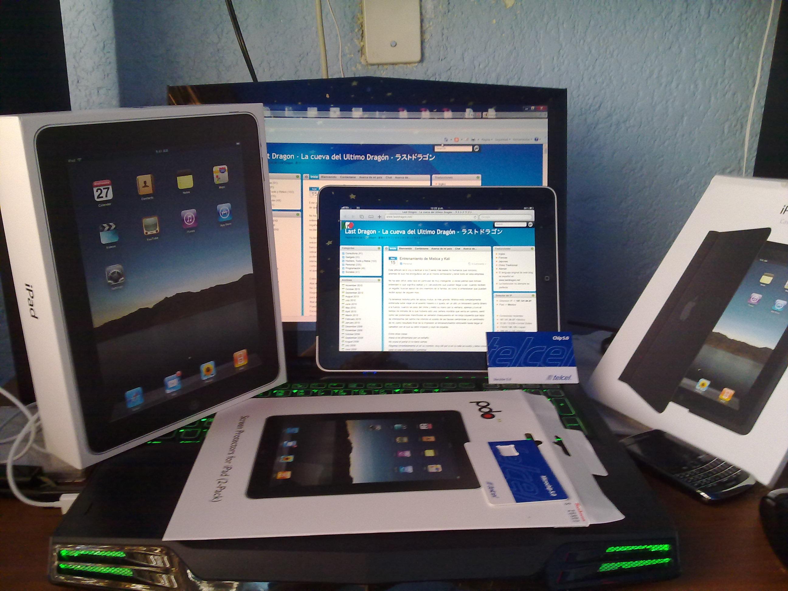Configurar Internet 3G de telcel en un IPAD – Last Dragon – La ...