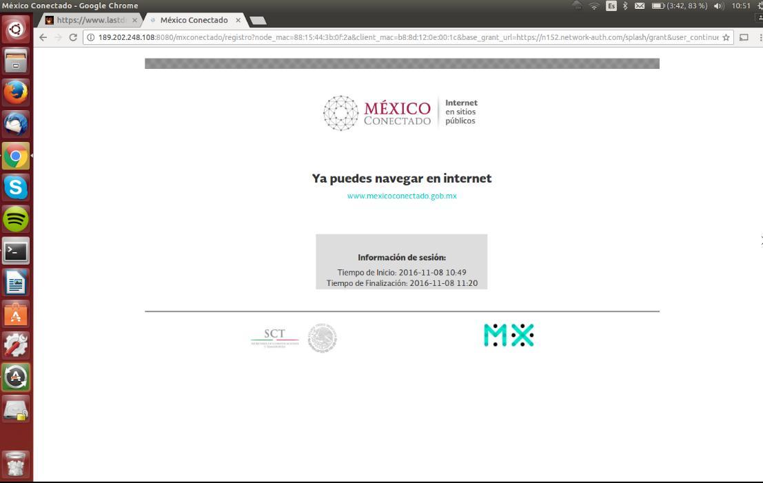 Censura en México Conectado