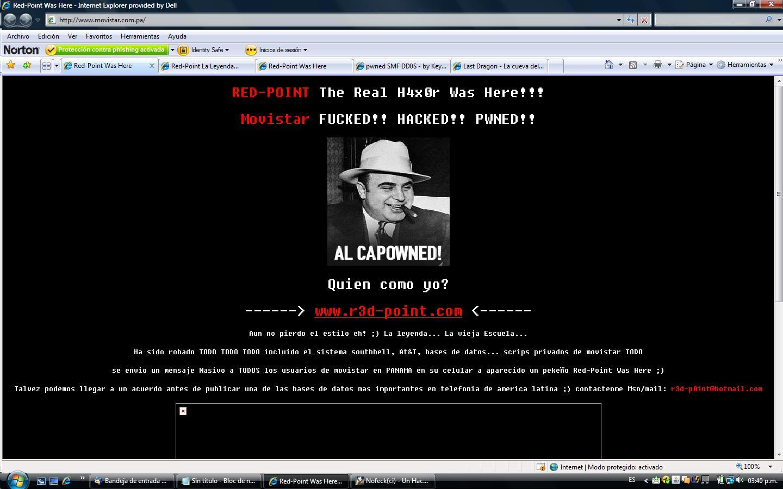 Red Point hackea Movistar Panama
